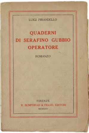 Serafino Gubbio - Saggio