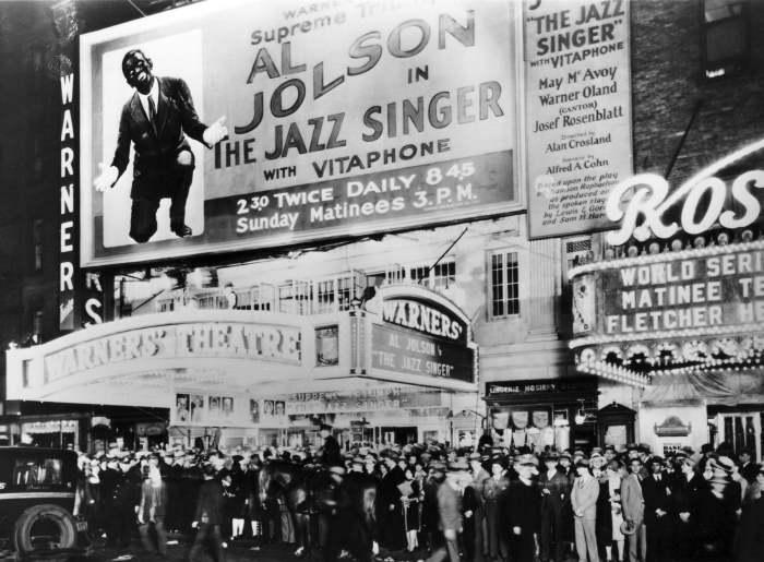 Se il film parlante abolirà il teatro