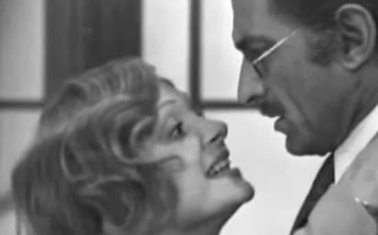 La signora Morli, una e due - 1972 RAI - Adriana Asti, Silvano Tranquilli