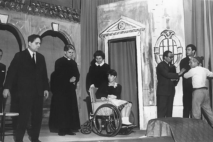 Lazzaro - Piccolo Teatro Città di Sacile, 1966