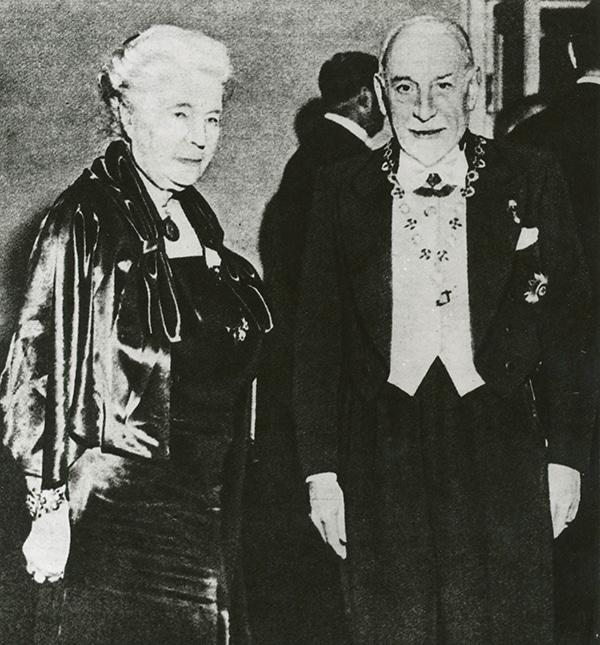 Premio Nobel a Luigi Pirandello il 10 dicembre 1934 - Con Selma Legerloff