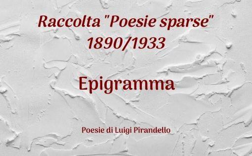 Epigramma
