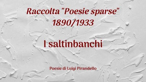 I saltinbanchi