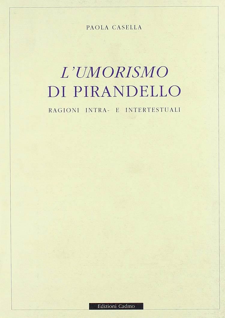 L umorismo di Pirandello