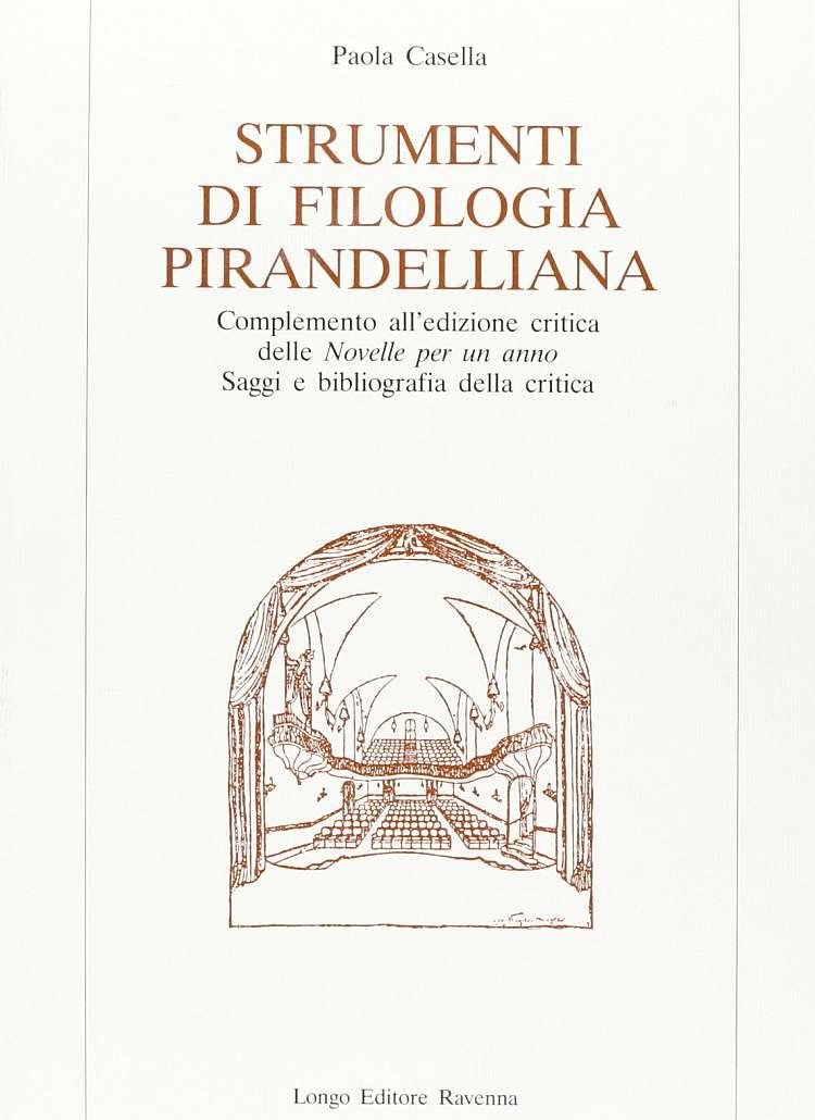 Strumenti di filologia pirandelliana