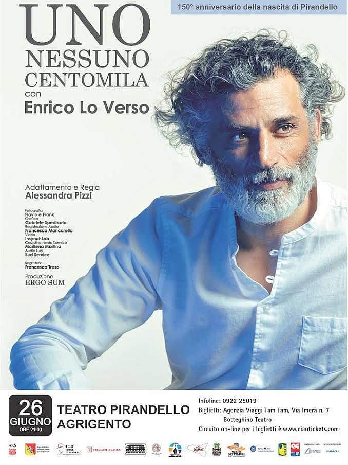 UNO NESSUNO CENTOMILA con Enrico Lo Verso