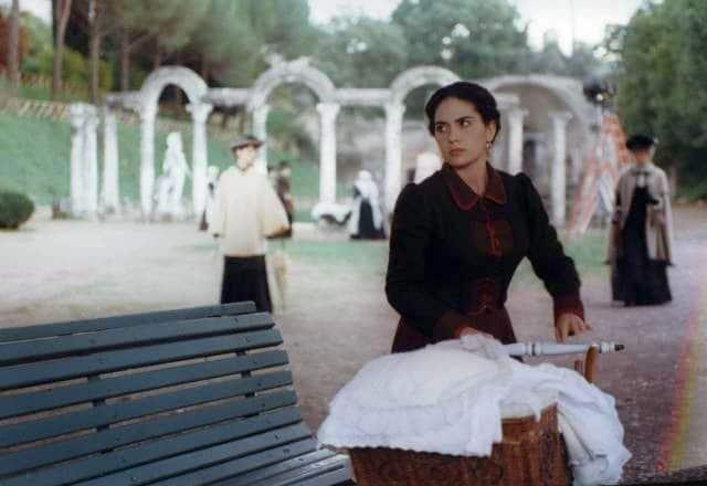 Fotogramma dal Film La Balia di Marco Bellocchio, 1999. Maya Sansa (Annetta, la balia)