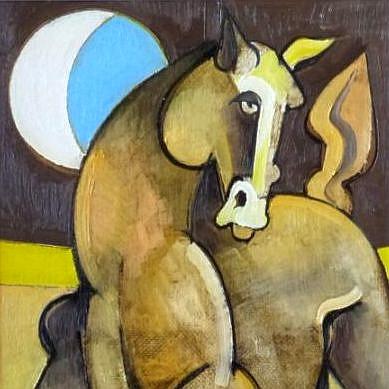 Un cavallo nella luna