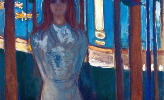 Edvard Munch (1863-1944), La voce, notte d'estate, 1896