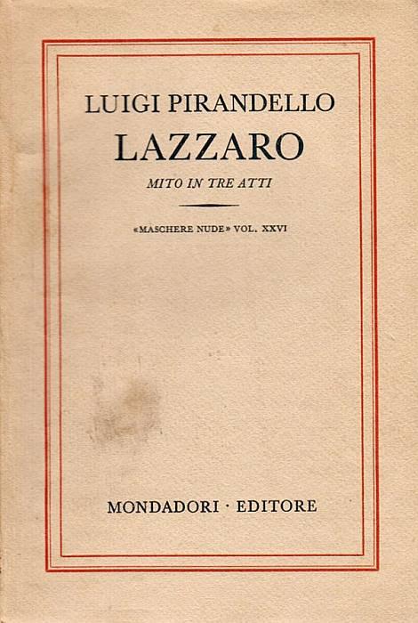 Lazzaro - Atto III