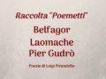 """1890/1922 – Raccolta """"Poemetti"""""""