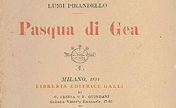 "1890 – Raccolta ""Pasqua di Gea"""