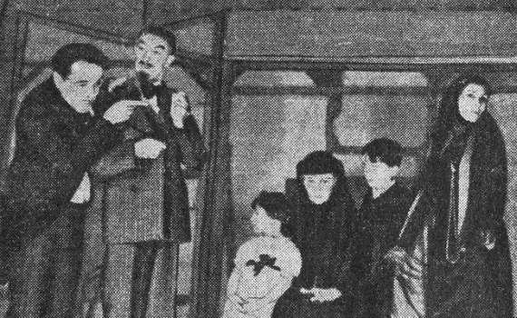 1921 – Seis personajes en busca de autor – Tragedia en tres actos