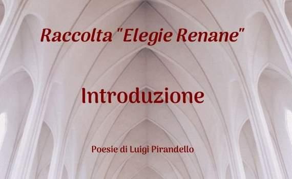 """1895/1934 – Raccolta """"Elegie Renane"""""""