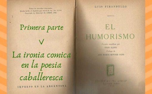 El Humorismo - Primera parte - V