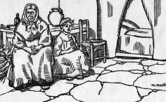 Das wartende zimmer – 1916