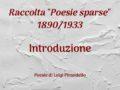 1890/1933 – Poesie sparse