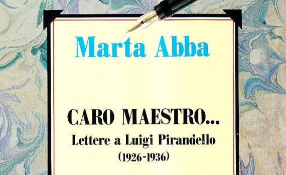 Abba Marta – Caro maestro….