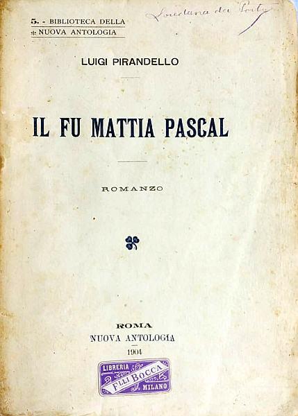 Tesina: Il fu Mattia Pascal