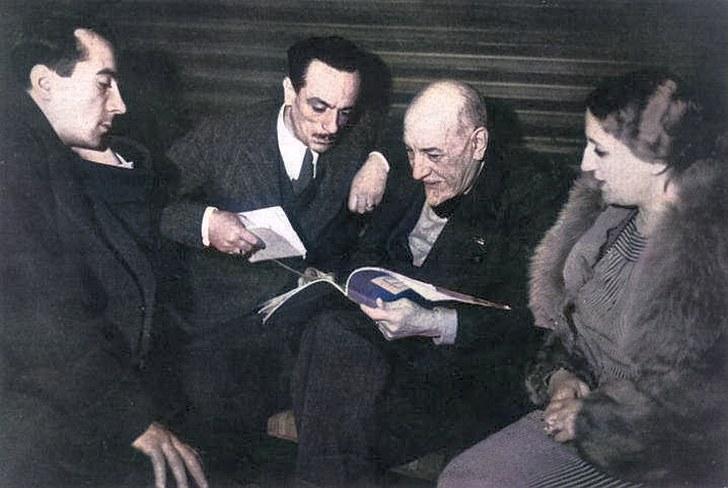 Pirandello e i fratelli De Filippo